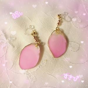 【アゲートスライス】ピンク好きお姉さんからのオーダー