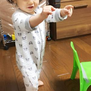 """次男が1歳4ヶ月に。""""1歳4ヶ月♪耳鼻科と眼科とシナジスと"""""""