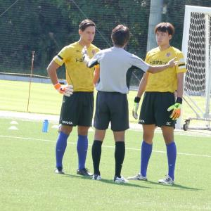 10/6【U-18】Jユース1回戦vs横浜F・マリノスユース@TSC第2グランド人工芝
