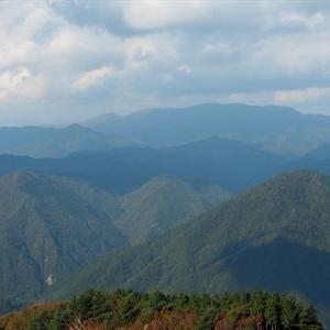 黒尾山から銚子ヶ口 プチ縦走3 黒尾山~銚子ヶ口~杠葉尾登山口へ