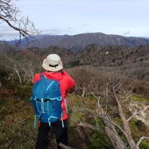 釈迦岳 岩が峰から三池岳周遊 甘からず! 4