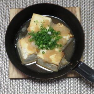 麺つゆで作る、お手軽 豆腐ステーキ
