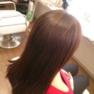 「綺麗な髪に必要なのはトリートメントだけじゃない!」リーヌ(≧▽≦)