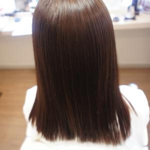 「初めての縮毛矯正で髪が!!!」リーヌ(≧▽≦)
