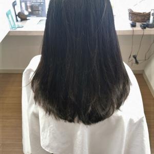 「髪の長さを変えずに髪の量をコントロールする!!」リーヌ(≧▽≦)