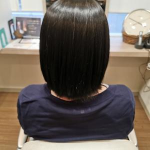 「縮毛矯正と艶髪トリートメントでいつまでもコンディションバッチリ♪」リーヌ(≧▽≦)