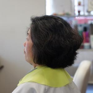 「髪が癖毛で多い方のカットにはフレンチカットグランは必須です♪」リーヌ(≧▽≦)