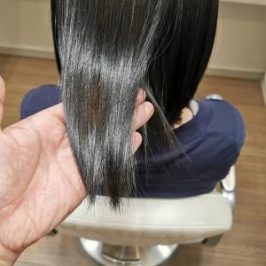 「縮毛矯正毛に対するヘアアイロンやカールアイロンのデメリット」リーヌ(>_<)