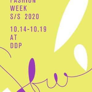 2019年10月17日ソウルファッションウィーク生中継情報
