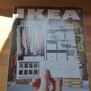 IKEA棚で作る壁面収納