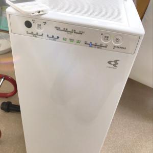空気清浄機を新しくしました!