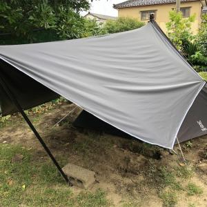 ニワンピング(庭キャンプ)の課題 テントや設備を吟味すべし