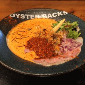 フレンチ牡蠣ラーメン!「オイスターバックス」牡蠣のカプチーノが旨い!東武練馬