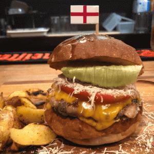 池袋「World Burger」酒場の二毛作!3種のチーズ!イングランドバーガーが最高に美味かった!