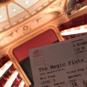 オペラ『魔笛』@ロイヤル・オペラハウス