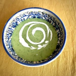 イギリスの初夏の味 グリーンピース&ミントスープ