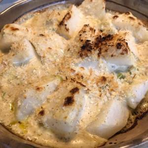 レシピあり「青森県産の長芋でグラタン」