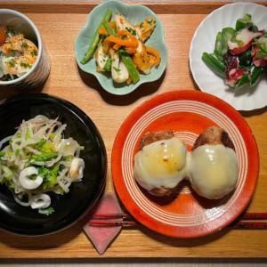 家ご飯定食(一応減量中)