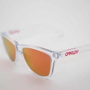 OAKLEY FROGSKINS × RARTS度付き偏光レンズ