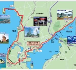 サイコーの景色(下関海峡マラソン3)