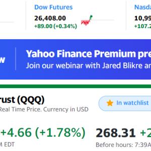 今日の米国株も高い!