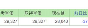 日本株の成績が非常に悪い