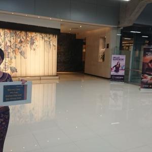 バンコク・スワンナプーム国際空港 シンガポール航空 シルバークリスラウンジ