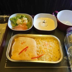タイ航空 TG727  バンコク – クアラルンプール エコノミークラス機内食 09SEP19