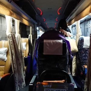【番外編】夜行高速バス 名古屋~新宿 VIPライナー乗車 19年09月