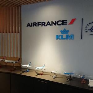 バンコク・スワンナプーム国際空港 エールフランス/KLM  SKY LOUNGE 19年9月訪問