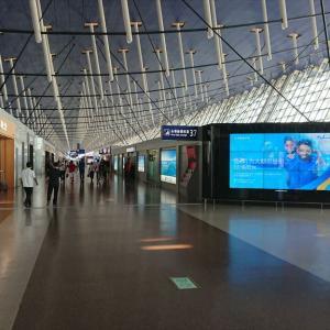上海 浦東国際空港(ターミナル1) ファーストクラスラウンジ No.37 19年9月訪問