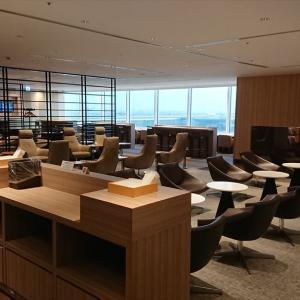 羽田国際空港 JALサクララウンジ 19年10月訪問