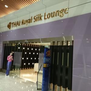 クアラルンプール国際空港 KLIA  タイ航空 ロイヤル オーキッド ラウンジ 19年10月訪問