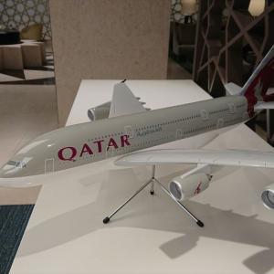 バンコク・スワンナプーム国際空港 カタール航空 ラウンジ 19年10月再訪