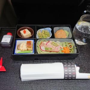 JAL JL708 バンコク – 成田 ビジネスクラス機内食 05OCT19