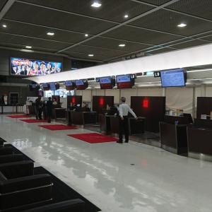 成田国際空港 JALファーストクラスラウンジ 本館 20年3月訪問 *サービス制限期間*