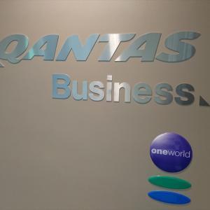成田国際空港 カンタス航空 インターナショナル ビジネスラウンジ 20年3月訪問
