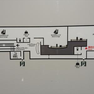 福岡空港 JAL DIAMOND PREMIER LOUNGE 20年07月訪問