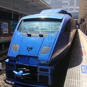 JR九州の特急車両たち 20年8月乗車