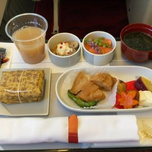 JAL JL516 札幌(新千歳)~羽田 ファーストクラス機内食  20SEP20