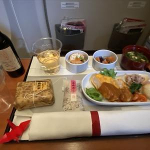 JAL JL528 札幌(新千歳)~羽田 ファーストクラス機内食 19MAR21