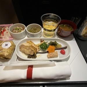 JAL JL529 羽田~札幌(新千歳) ファーストクラス機内食 02MAY21