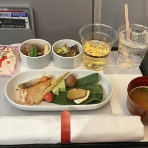 JAL JL526 札幌(新千歳)~羽田 ファーストクラス機内食 04MAY21