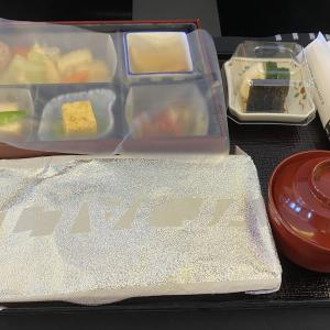 JALファンサイトtricoの「特別チャーターフライト」に参加!機内食編