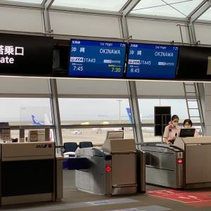 ボーイングB737-800型機 NU043 中部(名古屋)~沖縄(那覇) クラスJ搭乗記 02JUN21