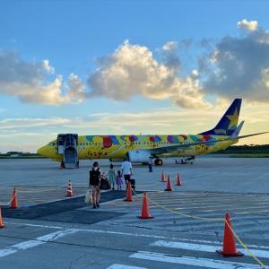 ボーイングB737-800型機 BC618 下地島(宮古)~羽田 搭乗記 27AUG21 ピカチュウジェット