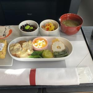 JAL JL921 羽田~沖縄(那覇) ファーストクラス機内食 14SEP21