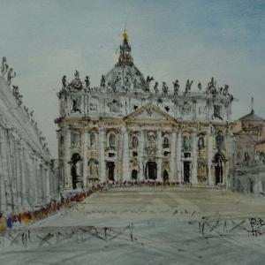 バチカン市国・サン・ピエトロ大聖堂