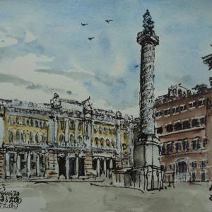 ローマ・コロンナ広場
