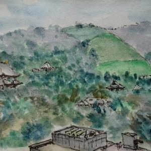 奈良・県庁の屋上から